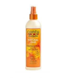 Cantu Comeback Curl Next Day Curl Revitalizer curly girl approved