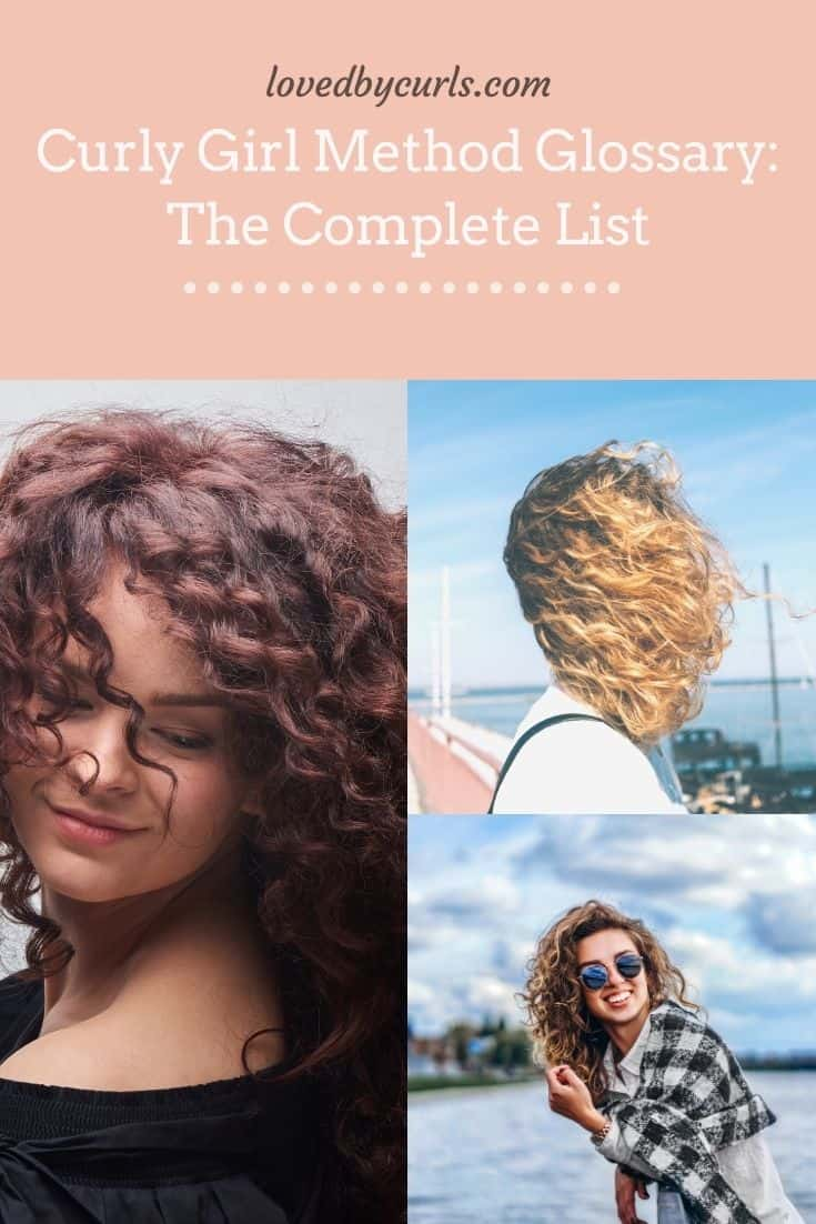 Curly Girl Method Glossary: The Complete List