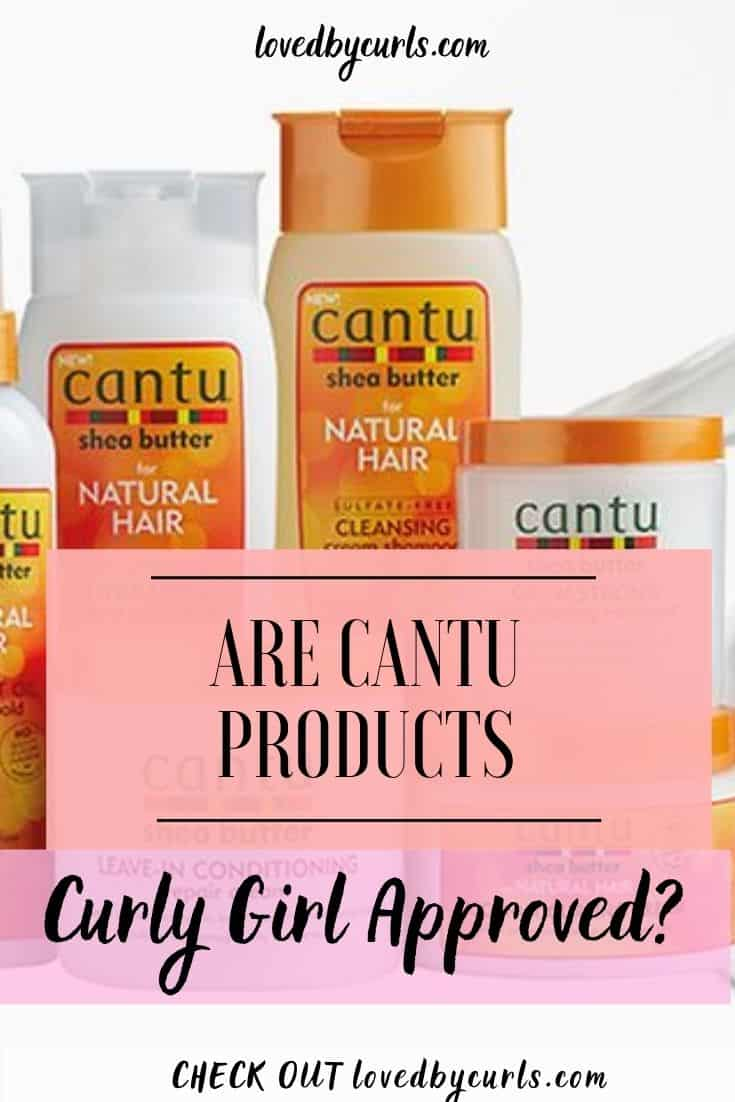 Are Cantu Products Curly Girl Approved