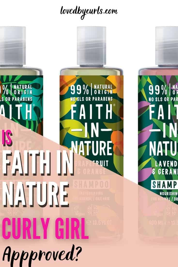 Is Faith In Nature Conditioner Curly Girl Approved