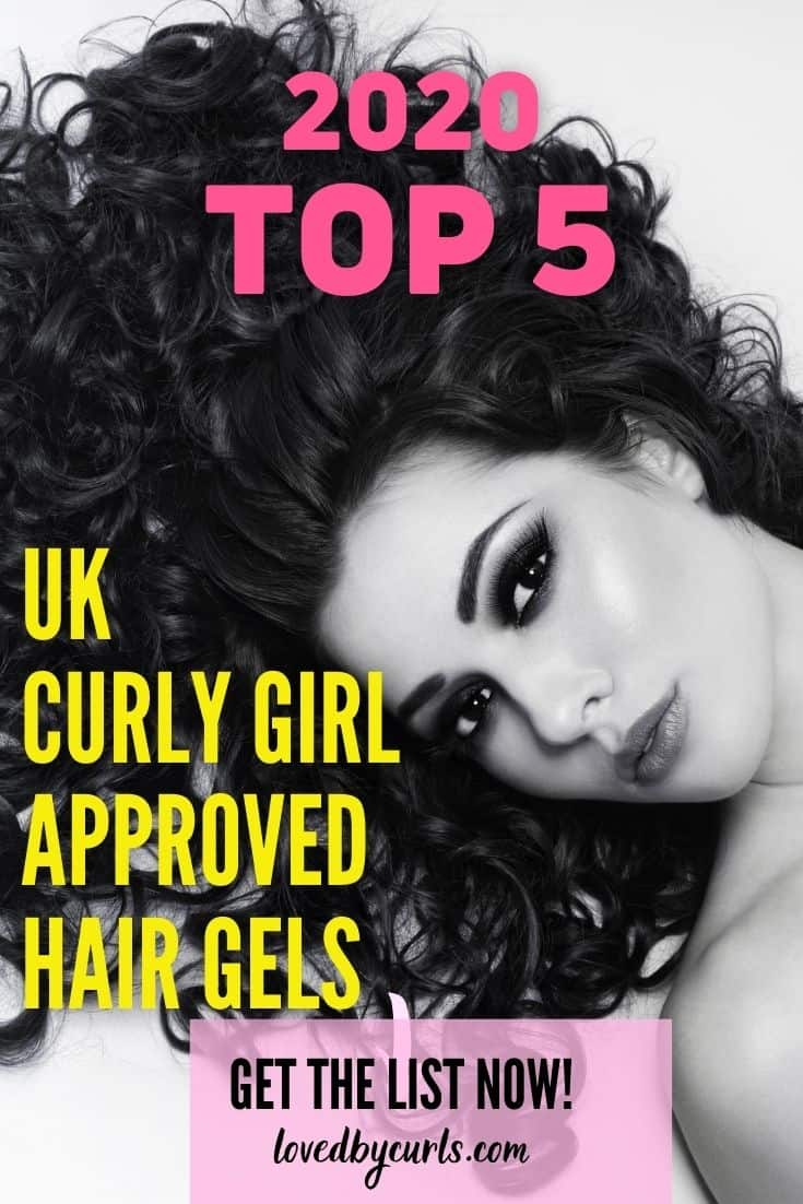 2020 Top 5 UK Curly Girl Approved Gels
