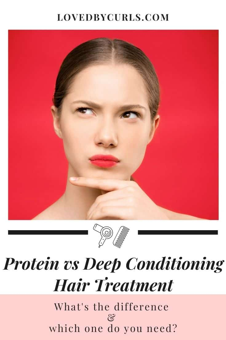 Protein vs deep conditioning hair treatment