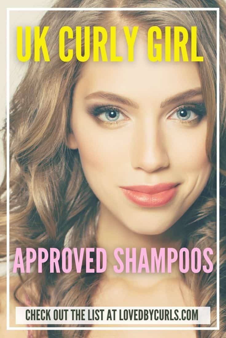 UK Curly Girl Approved Shampoos