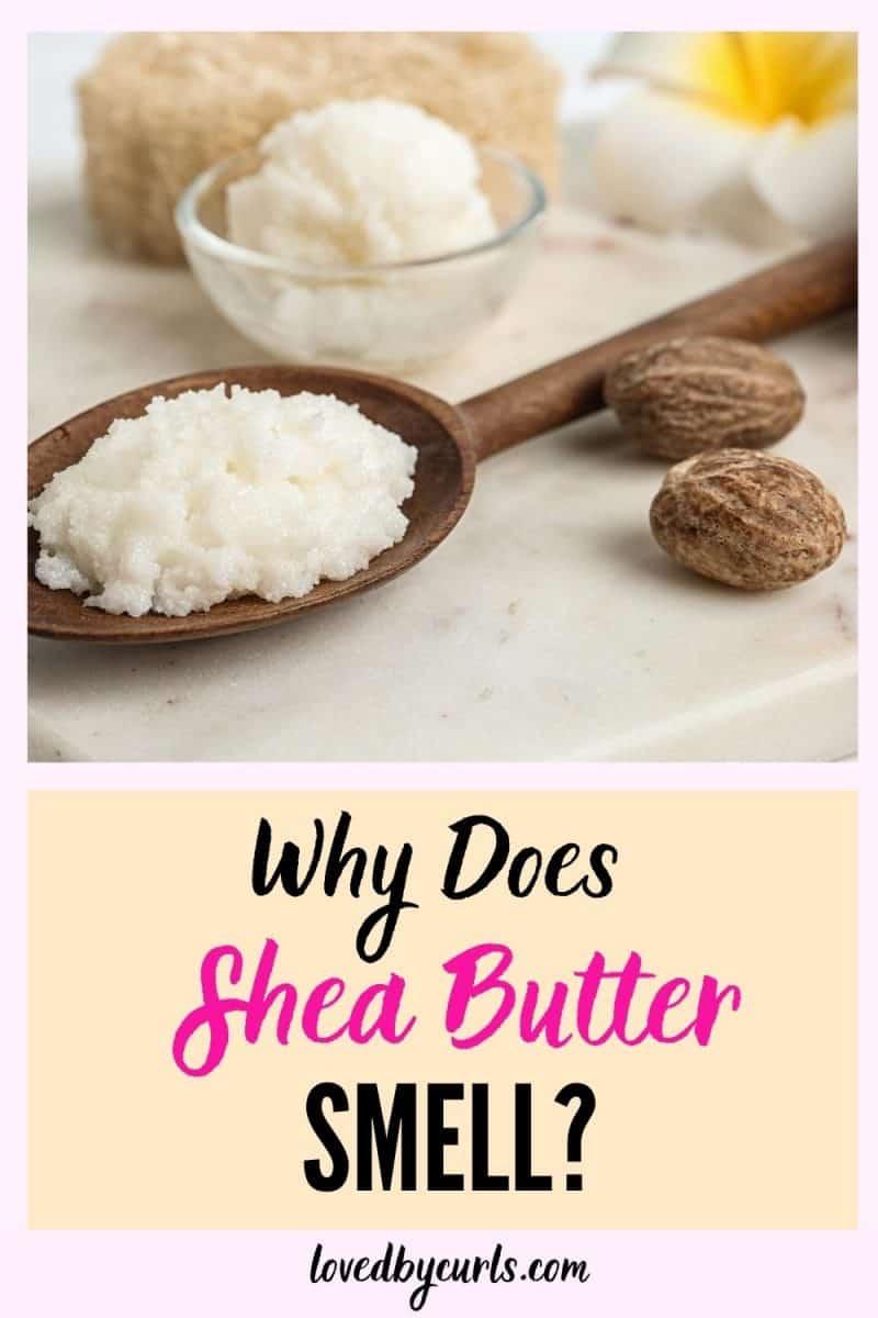 shea butter smell